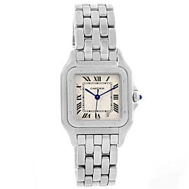 Cartier Panthere W25054P5 Stainless Steel 36mm Quartz Unisex Watch