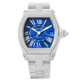Cartier Roadster W62048V3 Stainless Steel Automatic 38mm Mens Watch