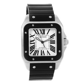 Cartier Santos 100 W20121U2 Stainless Steel 38mm Automatic Mens Watch