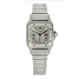 Cartier Santos W20054D6 Stainless Steel 24mm Womens Watch