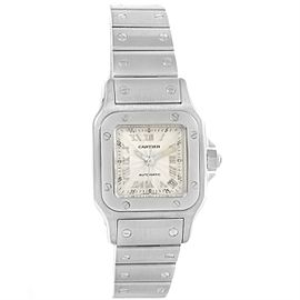 Cartier Santos Galbee W20044D6 Stainless Steel Automatic 24mm Womens Watch
