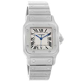 Cartier Santos Galbee W20060D6 Stainless Steel & Silver Dial 29mm Unisex Watch