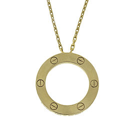 Cartier Yellow Gold Love Necklace