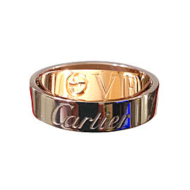 Cartier Secret Love 18K White and Rose Gold Ring and Pendant