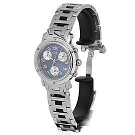 HERMES Clipper CL1.310 Blue Dial Quartz Ladies Watch
