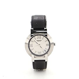 Hermes Nomade Quartz Watch Stainless Steel and Leather 36
