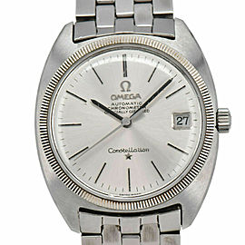 OMEGA Constellation 18KWG Bezel Cal.564 Chronometer Automatic Mens Watch