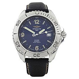 Breitling Shark A58605 41mm Mens Watch