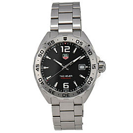 TAG Heuer Formula1 WAZ1112.BA0875 Black Dial Quartz Men's Watch