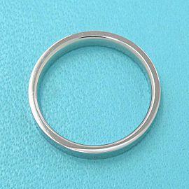 TIFFANY & CO 950 platinum Flat Band Ring