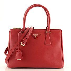 Prada Galleria Double Zip Tote Saffiano Leather Medium