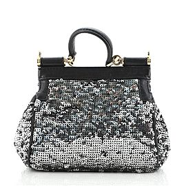 Dolce & Gabbana Miss Sicily Bag Sequins Small