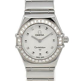 OMEGA Constellation My Choice 1465.71 Diamond Bezel Quartz Ladies Watch