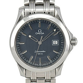 OMEGA Seamaster 2511.80 120M Blue Dial Quartz Men's Watch