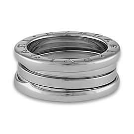Bulgari B.Zero 1 Ring 18K White Gold Size 6.5