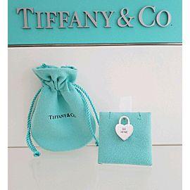 Tiffany & Co. Sterling Silver Be Mine Heart Padlock Pendant