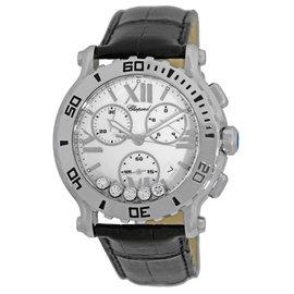 Chopard Happy Sport Stainless Steel Quartz Chronograph Mens Watch