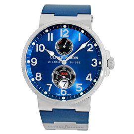 """Ulysse Nardin """"1846 Maxi Marine"""" Stainless Steel Automatic 41mm Mens Watch"""