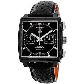 Tag Heuer Monaco CAW211M.FC6324 Stainless Steel Chronograph 39mm Watch
