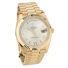 "Rolex ""Day-Date President"" 18K Rose Gold 40mm Watch"