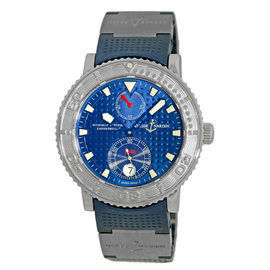 """Ulysse Nardin """"1846 Maxi Marine"""" Stainless Steel Automatic 40mm Mens Watch"""