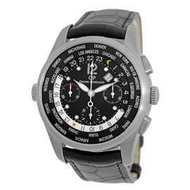 "Girard Perregaux World Wide Time Control ""WW.TC"" Chronograph Titanium Mens Strap Watch"