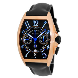 "Frank Muller Cintree Curvex ""Mariner"" 18K Rose Gold Chronograph Watch"