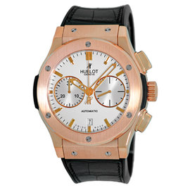 Hublot Classic Fusion 541.OX.1181.LR 18K Rose Gold & Leather 45.5mm Watch