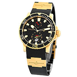 "Ulysse Nardin ""Maxi Marine Diver"" 226-33 18K Rose Gold/Titanium Automatic 43mm Mens Watch"