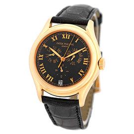 "Patek Philippe Gent's 18K Rose Gold Ref# 5035 R ""Annual Calendar"" Strapwatch"