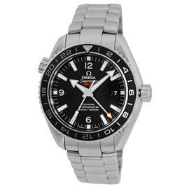 Omega Seamaster Planet Ocean Stainless Steel Black Dial Automatic 43.5mm Mens Watch