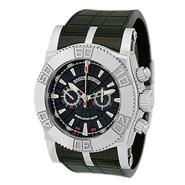 "Roger Dubuis ""Easy Diver Chronograph Carbon"" Stainless Steel Watch"