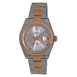 Rolex Datejust 178241 Stainless Steel & 18K Rose Gold 31mm Unisex Watch