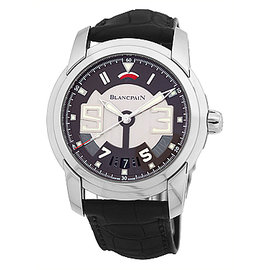 Blancpain L-Evolution Automatique 8 Day Stainless Steel Mens Strap Watch