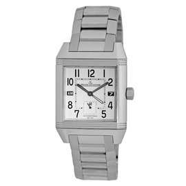 "Jaeger LeCoultre ""Reverso Squadra Hometime GMT"" Stainless Steel Automatic 41mm Mens Watch"