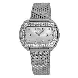 Baume & Mercier Diamond Hampton Acier MOA08346 Stainless Steel 32mm Womens Watch