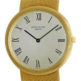 Patek Philippe Calatrava 3459 18K Yellow Gold 32mm Mens Watch
