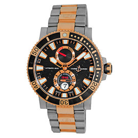 Ulysse Nardin Maxi Marine 265-90-8M/92 Titanium and 18K Rose Gold Automatic 45mm Mens Watch