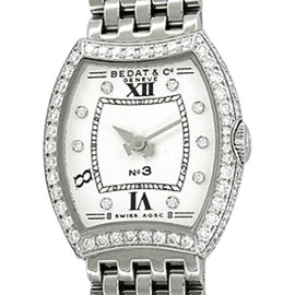 Bedat & Co. 304.051.109 Stainless Steel with Diamond 25mm Womens Watch