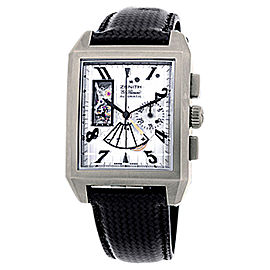 "Zenith ""Grand Port Royal Open Concept"" Titanium Mens Watch"