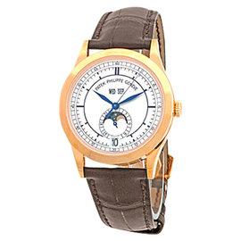 Patek Philippe Annual Calendar 5396 18K Rose Gold Strap Mens Watch