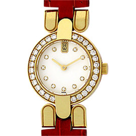 Harry Winston 18K Yellow Gold Strapwatch Womens Watch