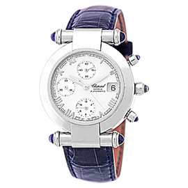 Chopard Imperiale Chronograph Stainless Steel Midsize Mens Watch