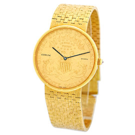 "Corum 18K Yellow Gold ""1894"" U.S. $20 Coin Watch"