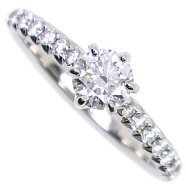 NIWAKA Pt950 Platinum/diamond Ring