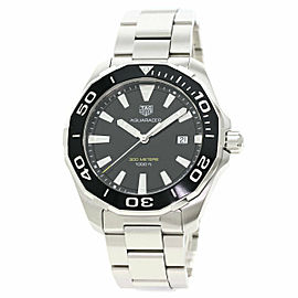 TAG HEUER Stainless Steel/Stainless Steel Aqua Racer WAY101A Watch