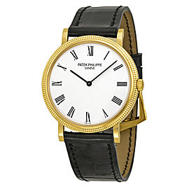 Patek Philippe Calatrava 5120J-001 18K Yellow Gold 35mm Watch