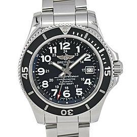 BREITLING Super Ocean II 42 A17365 Black Dial Automatic Men's Watch