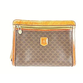 Céline Monogram Macadam Pochette Zip Pouch Cosmetic Case 1cel519