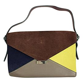 Céline Diamond Clutch 48cela617 Tricolor Shoulder Bag